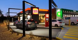 Service Station & Hungry Jacks